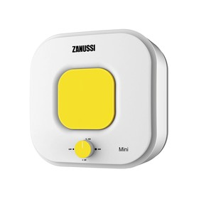 Водонагреватель Zanussi ZWH/S 15 Mini O, 15 л, 2500 Вт, накопительный, белый/желтый