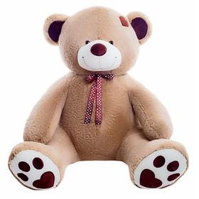 Мягкая игрушка «Медведь Тони», цвет коричневый, 120 см
