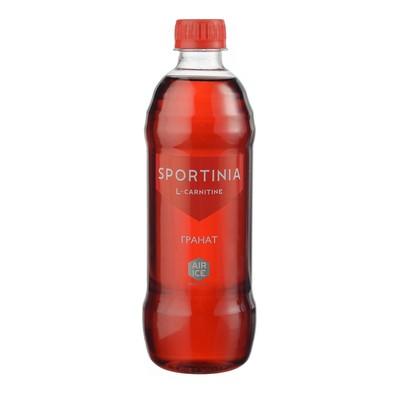Напиток SPORTINIA L-CARNITINE (1500 mg), гранат, 0,5 л.