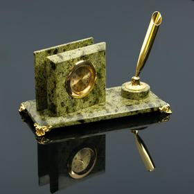 """Business card holder """"the Coil"""": the pen holder, clock, mix"""