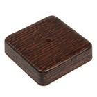 Коробка распределительная T-plast, 75х75х20 мм, венге, 50.12.003.0005,