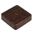 Коробка распределительная T-plast, 80x80x20 мм, венге, 50.12.001.0005,