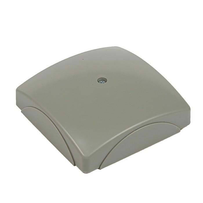 Коробка распределительная QUEL, 70х19, серый, 80.68.003.010,