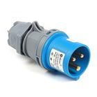 Вилка кабельная T-plast, 16 A, 2P+E, IP 44, 31.20.301.0900,