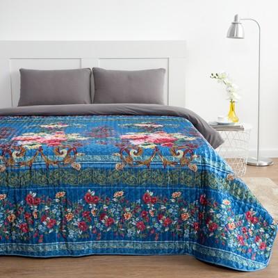 """Veil """"Ethel"""" silk 2 SP. Flower garden 180х220 cm, faux silk 100% p/e"""