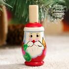 Свистулька «Дед Мороз», 3х7 см, микс