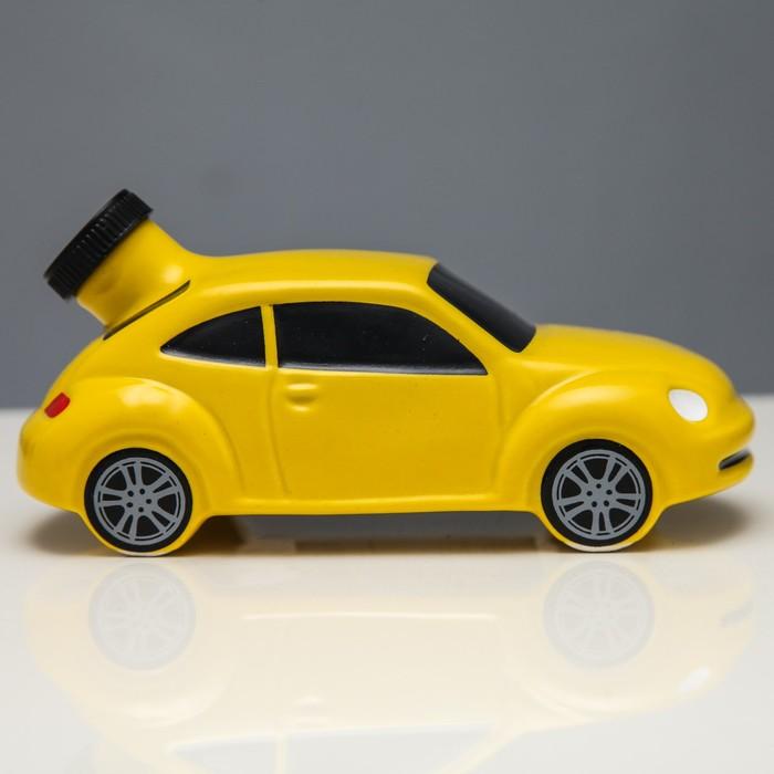 "Штоф ""Машина №4"" жёлтый, 0,25 л"