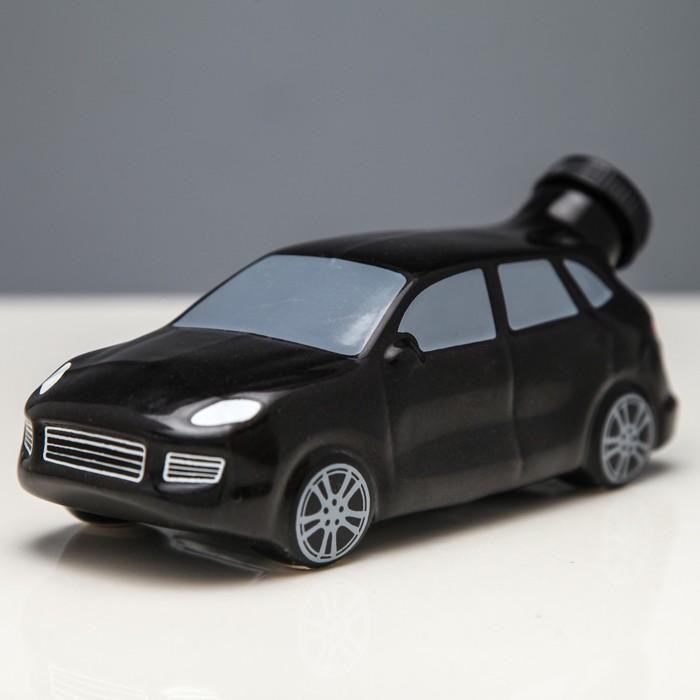 """Штоф """"Машина №3"""" чёрный, 0,25 л"""