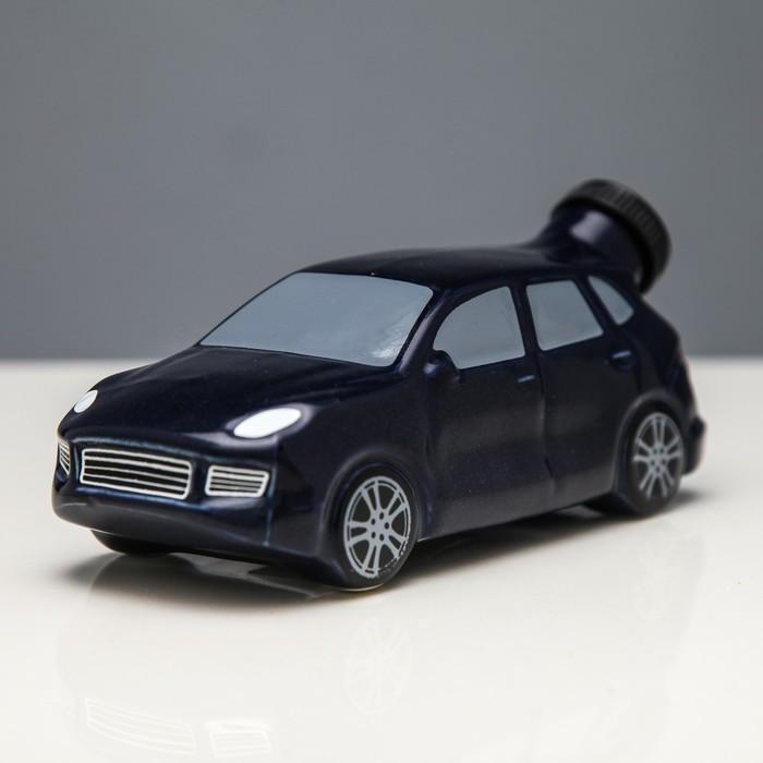 """Штоф """"Машина №3"""" синий, 0,25 л"""