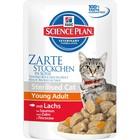 Влажный корм Hill's Cat для стерилизованных кошек, лосось, пауч, 85 г