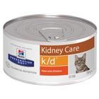 Влажный корм Hill's Cat k/d для кошек, лечение II стадии почечной недостаточности, ж/б, 156 г