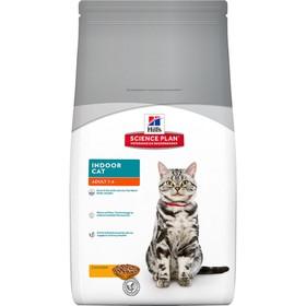 Сухой корм Hill's Cat indoor для домашних кошек, 4 кг