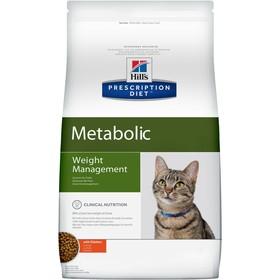 Сухой корм Hill's PD Metabolic для кошек, контроль веса, курица, 250 г