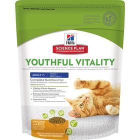 Сухой корм Hill's Cat senior youthful vitality для кошек с 7 лет, 250 г