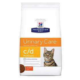 Сухой корм Hill's PD c/d multicare Urinary Care для кошек, профилактика МКБ, 1.5 кг