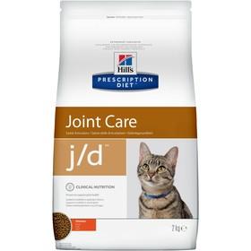 Сухой корм Hill's PD j/d для кошек, поддержание метаболизма и суставов, курица, 2 кг