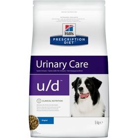 Сухой корм Hill's PD u/d Urinary Care для собак, при хронической болезни почек, 5 кг