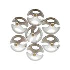 Держатель для шаров, набор 100 шт., отверстие 0,5 см, d=3,8 см, цвет белый