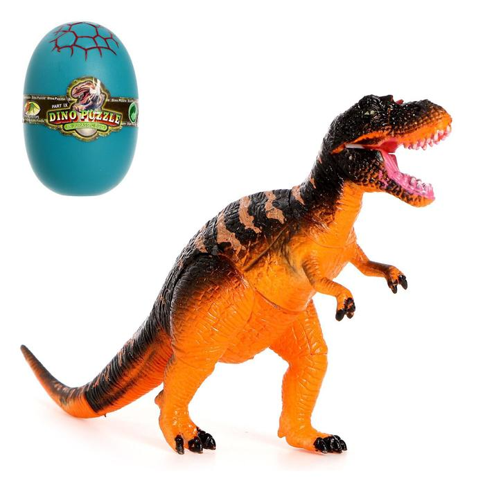 3D пазл «Мир динозавров-1», 4 вида, МИКС