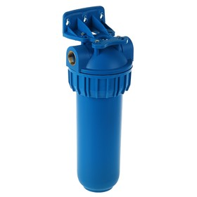 "Housing for filter 3/4"" 10S, PP, internal thread, without cartridge, blue"