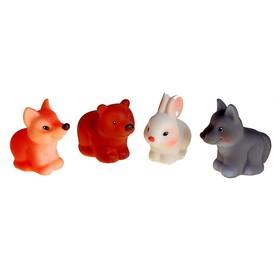 Набор резиновых игрушек «Лесные звери»