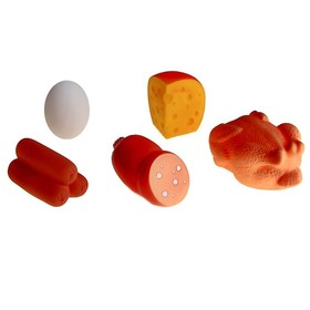 Набор резиновых игрушек «Продукты» Ош