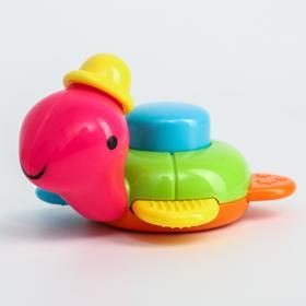 Погремушка «Черепашка», цвет МИКС