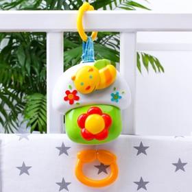 """Clockwork musical pendant """"Bee"""" for a crib/pram"""