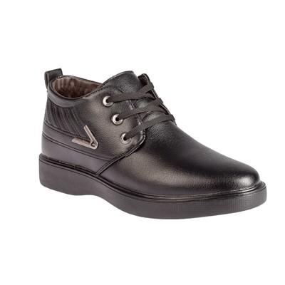 Ботинки мужские 685, цвет чёрный, размер 40