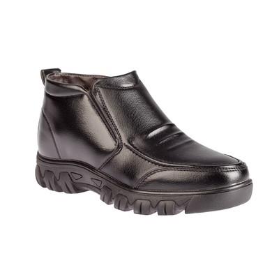 Ботинки мужские 6502, цвет чёрный, размер 40
