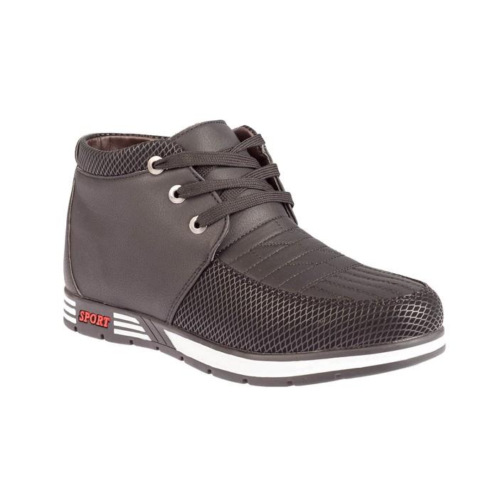 Ботинки мужские 609, цвет чёрный, размер 43