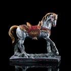 "Сувенир ""Гарцующий конь"" со стразами, 32 х 35 см"