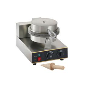 Вафельница Gastrorag ZU-XGP-1E, для тонких вафель, диаметр 210 мм, 1 секция, 1 кВт Ош