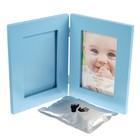 Фоторамка 13х18 см Innovа Baby Keepsake photo and imprint kit с набором для лепки, голубая