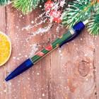 """Ручка-флажок """"С Новым Годом и Рождеством!"""""""