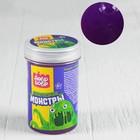 Слизь для рук с игрушкой, 200 мл, фиолетовая