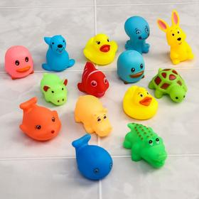 Набор игрушек для ванны, 14 шт.