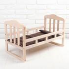 """Кроватка деревянная для куклы """"Соня"""" (большая)"""