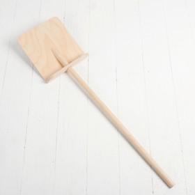 Лопата деревянная большая, размер: 72 × 14.5 см, d черенка:1,4 см