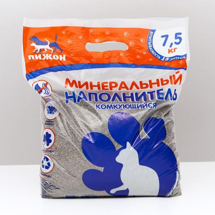 "Наполнитель комкующийся  ""Пижон"", 15 л - 7,5 кг"