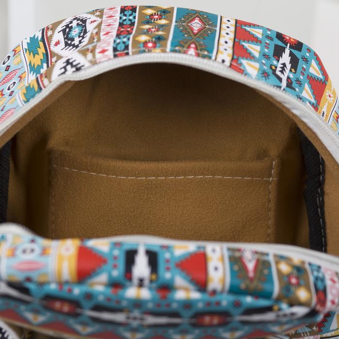 Рюкзак детский, отдел на молнии, наружный карман, 2 боковых кармана, цвет разноцветный - фото 369759047