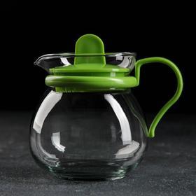 Чайник заварочный «Теплота», 450 мл, цвет МИКС
