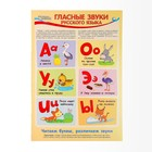 "Плакат ""Гласные звуки"" А3"