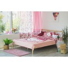 Штора Hello Kitty 150х270-1шт., цвет розовый , сатен - фото 105554134