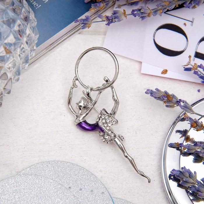 Фиолетовый в серебре