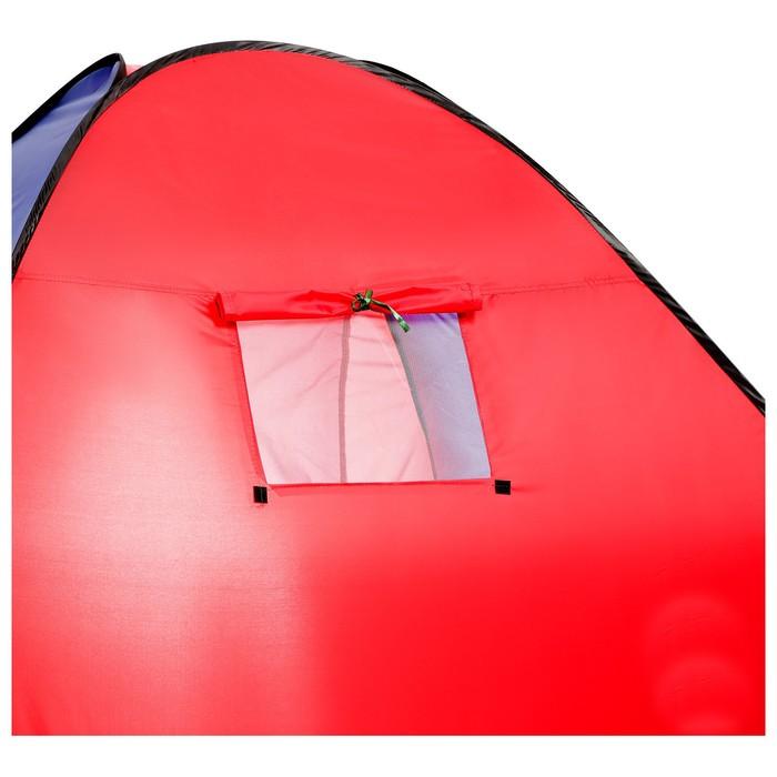 Палатка самораскрывающаяся 200х200х135 см, цвет синий - фото 35026