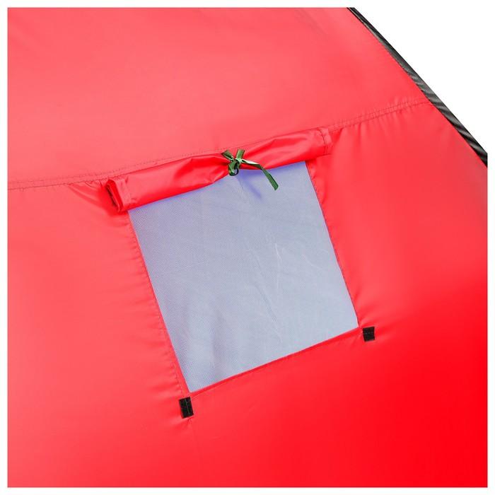 Палатка самораскрывающаяся 200х200х135 см, цвет синий - фото 35027