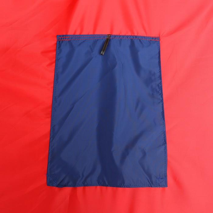 Палатка самораскрывающаяся 200х200х135 см, цвет синий - фото 35029
