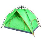 Палатка-автомат 4-х местная 200х200х125 см, двухслойная, цвет зеленый