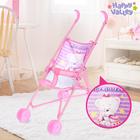 """Stroller for dolls """"Bear baby"""", plastic frame"""